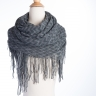 Chevron Infinity Tassel Scarf- 4 Colors! - Photo 1
