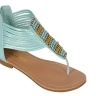 Cleopatra Beaded Flat Sandal - 3 Colors! - Photo 3